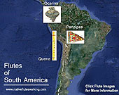 Native Flutes of South America