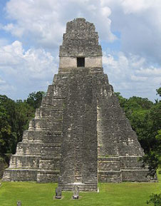 Great Mayan Pyramid at Tikal