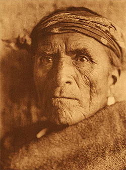 Zuni Governor, Lutakawi, Photographed by Edward S. Curtis